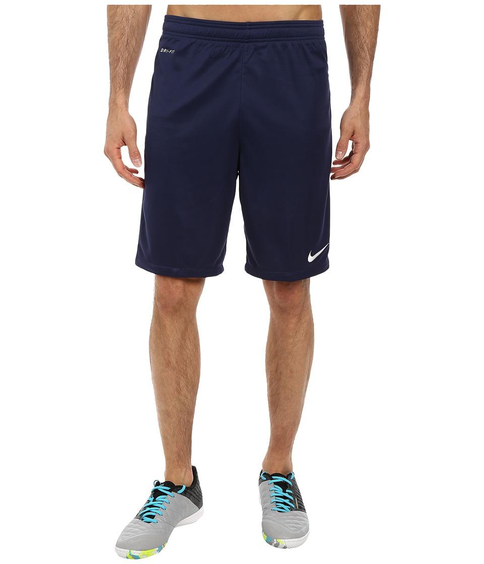 Nike - Academy Longer Knit Short 2 (Midnight Navy/Light Photo Blue/White) Men's Shorts
