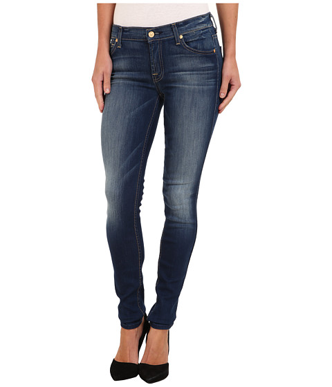 7 For All Mankind - The Skinny in Ultra Siren Blue (Ultra Siren Blue) Women's Jeans