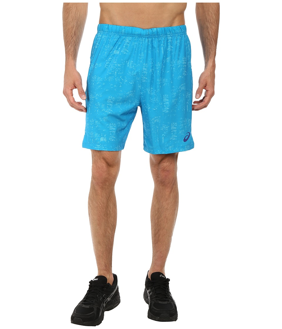 ASICS - Woven Short 7 (Skyline Atomic Blue) Men's Shorts