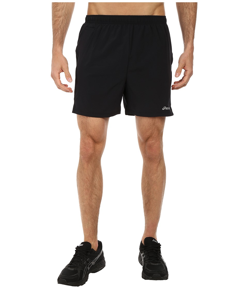 ASICS - Distance Short 5 (Black) Men's Shorts