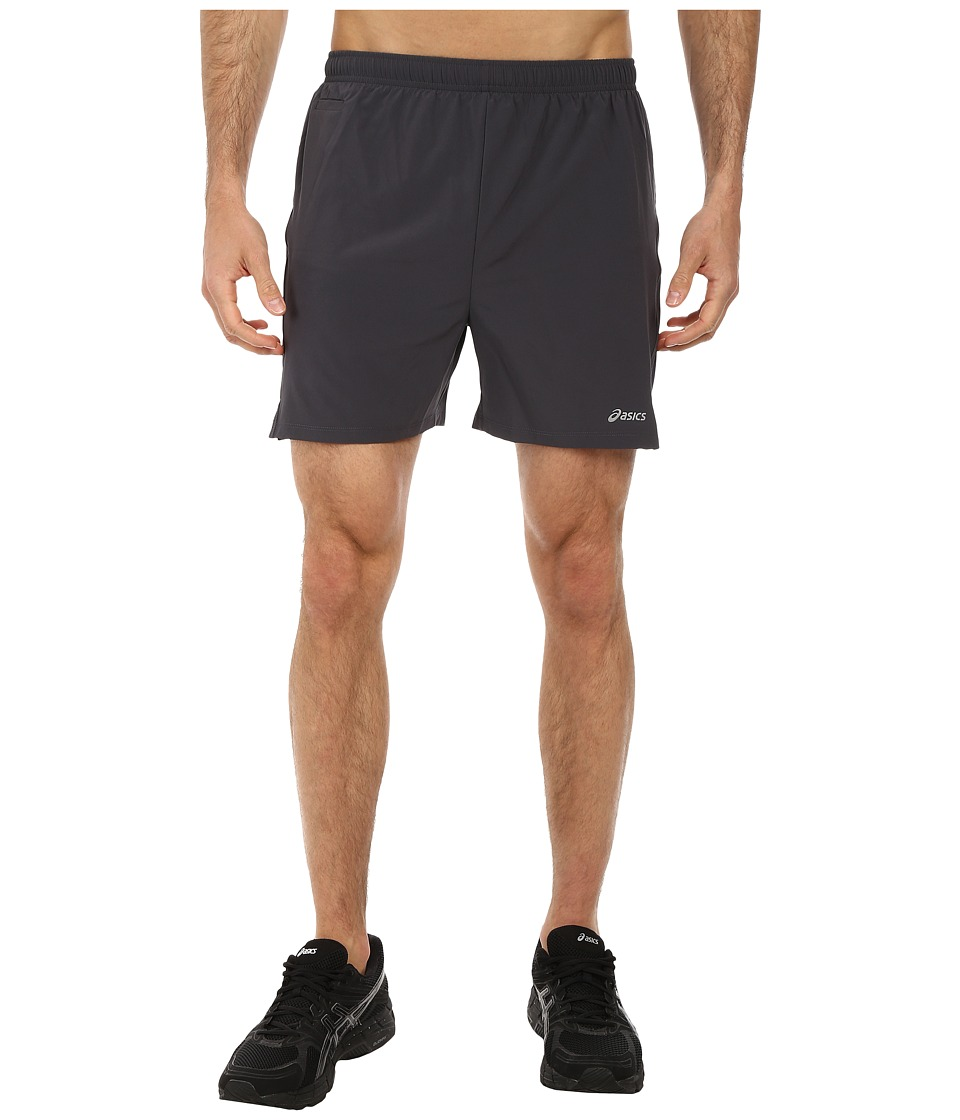 ASICS - Distance Short 5 (Steel/Stealth Gray/Stealth Gray) Men