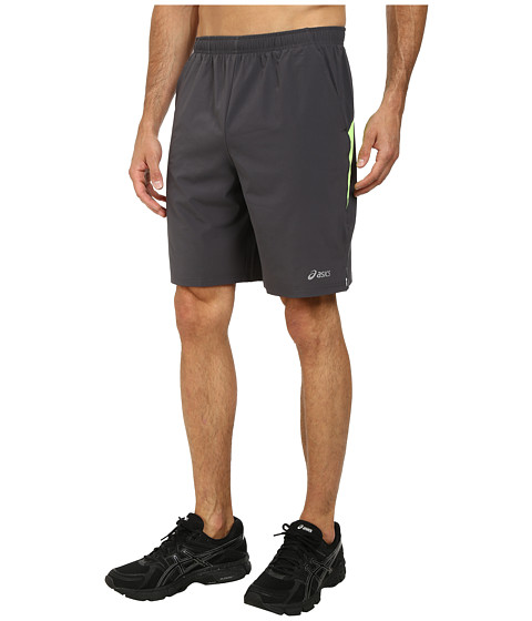 ASICS - Everyday Short 9 (Steel/Green Gecko) Men