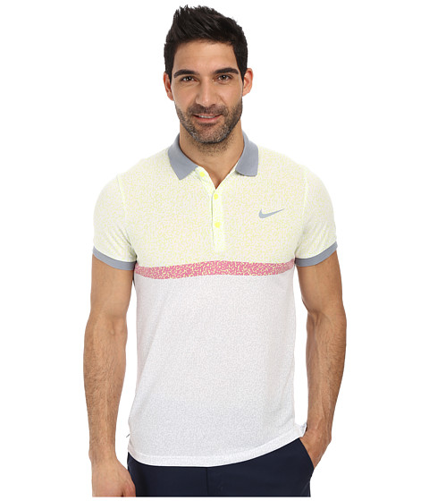 Nike - Dri-FIT Touch Polo (Dove Grey/Dove Grey) Men