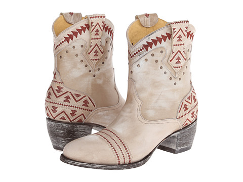 Old Gringo - Alexa (Copacabana Bone) Cowboy Boots