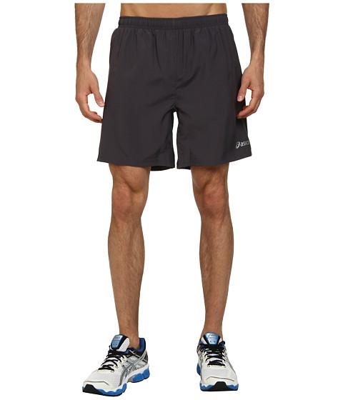 ASICS - Woven Short 7 (Steel/Stealth Gray/Stealth Gray) Men's Shorts