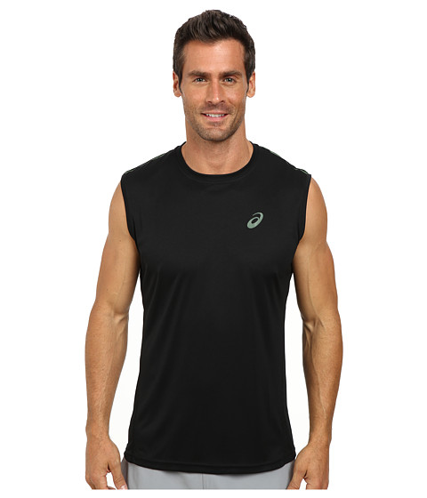 ASICS - Sleeveless Top (Performance Black) Men