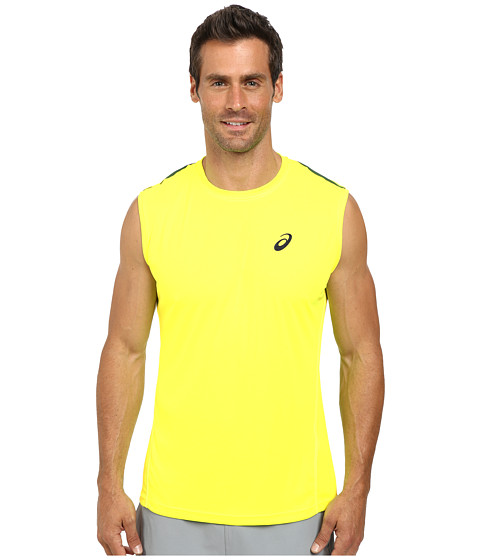 ASICS - Sleeveless Top (Safety Yellow) Men's Workout