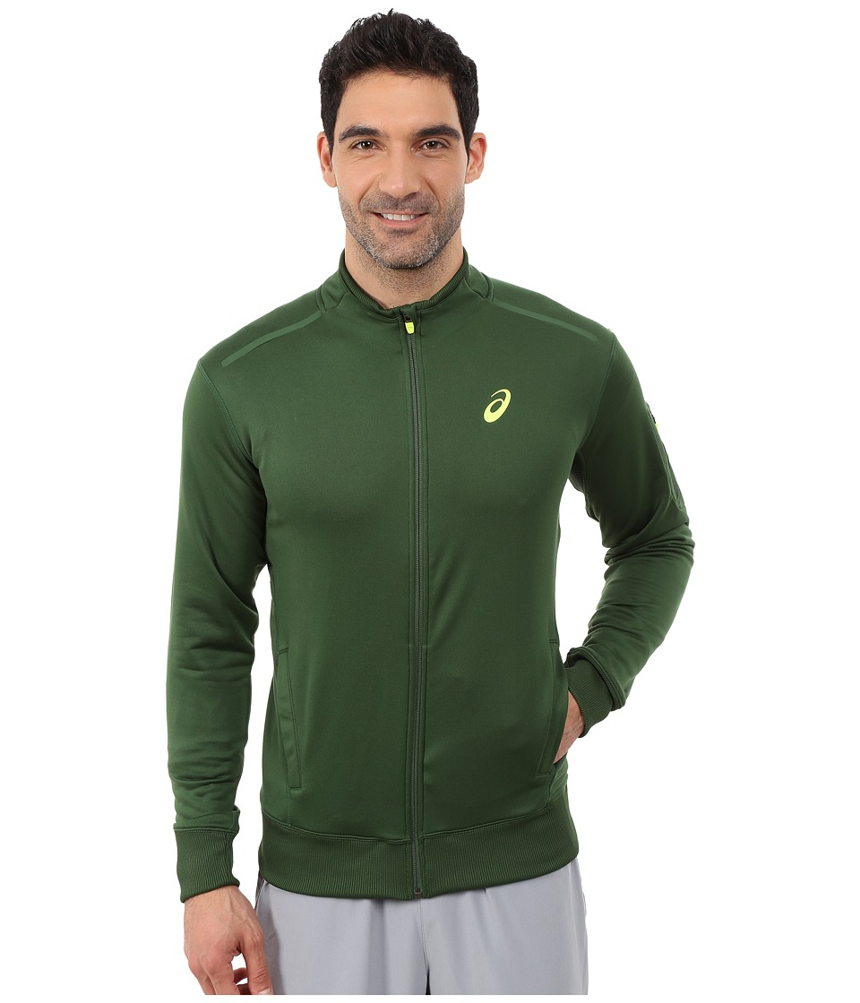 ASICS - Track Jacket (Oak Green) Men's Jacket