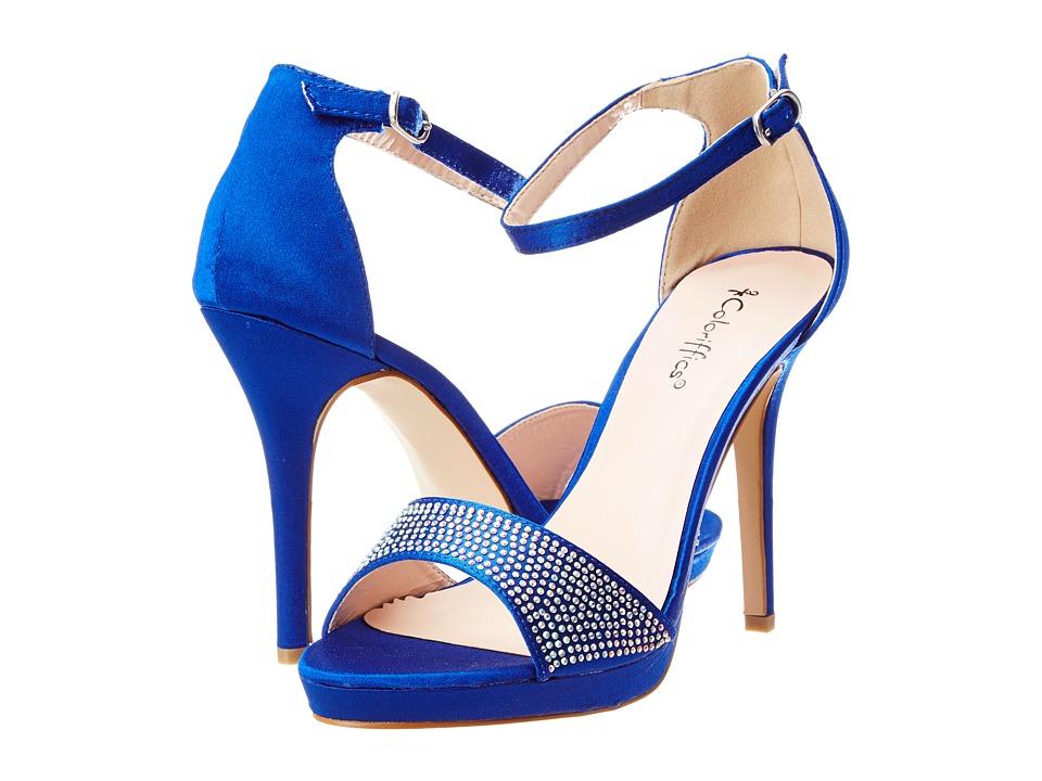 Coloriffics - Kayla (Royal Blue) Women's Shoes