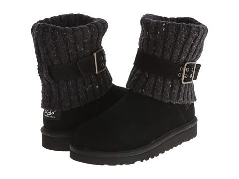 UGG Kids - Cambridge (Little Kid/Big Kid) (Black) Girls Shoes