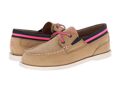 Sperry Top-Sider Kids - A/O Sport (Little Kid/Big Kid) (Linen/Pink) Girls Shoes