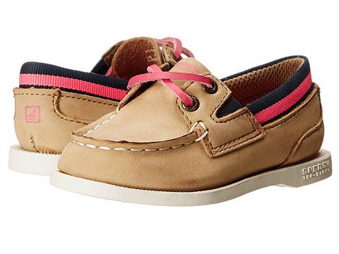 Sperry Top-Sider Kids - A/O Sport (Toddler/Little Kid) (Linen/Pink) Girls Shoes