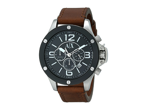 AX Armani Exchange - Wellworn (Brown) Watches