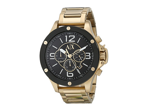 AX Armani Exchange - Wellworn (Gold-Tone) Watches