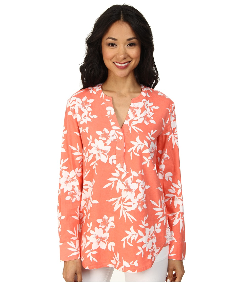 Tommy Bahama - Costa Blooms Tunic (Coral Buff) Women's Blouse