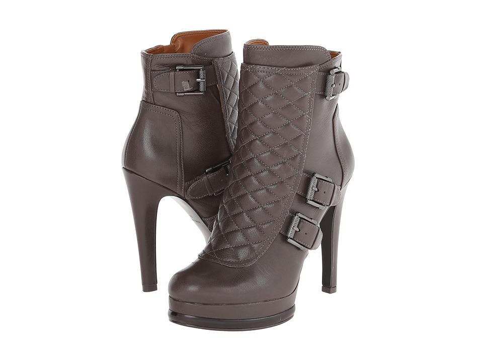 Nine West - Aspida (Grey Leather) Women's Zip Boots