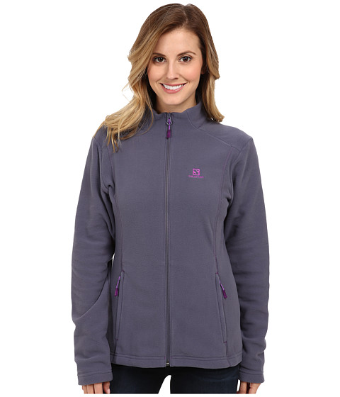 Salomon - Panorama FZ Midlayer (Artist Grey) Women's Coat