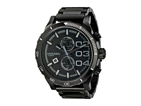 Diesel - Double Down (Black) Watches