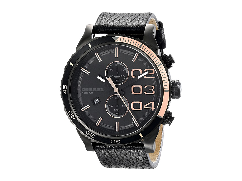 Diesel - Double Down (Black 1) Watches