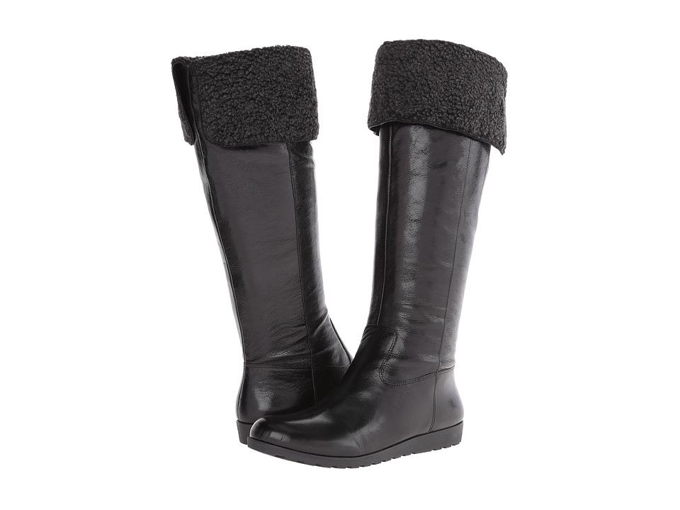 Nine West - Diyella (Black Leather) Women