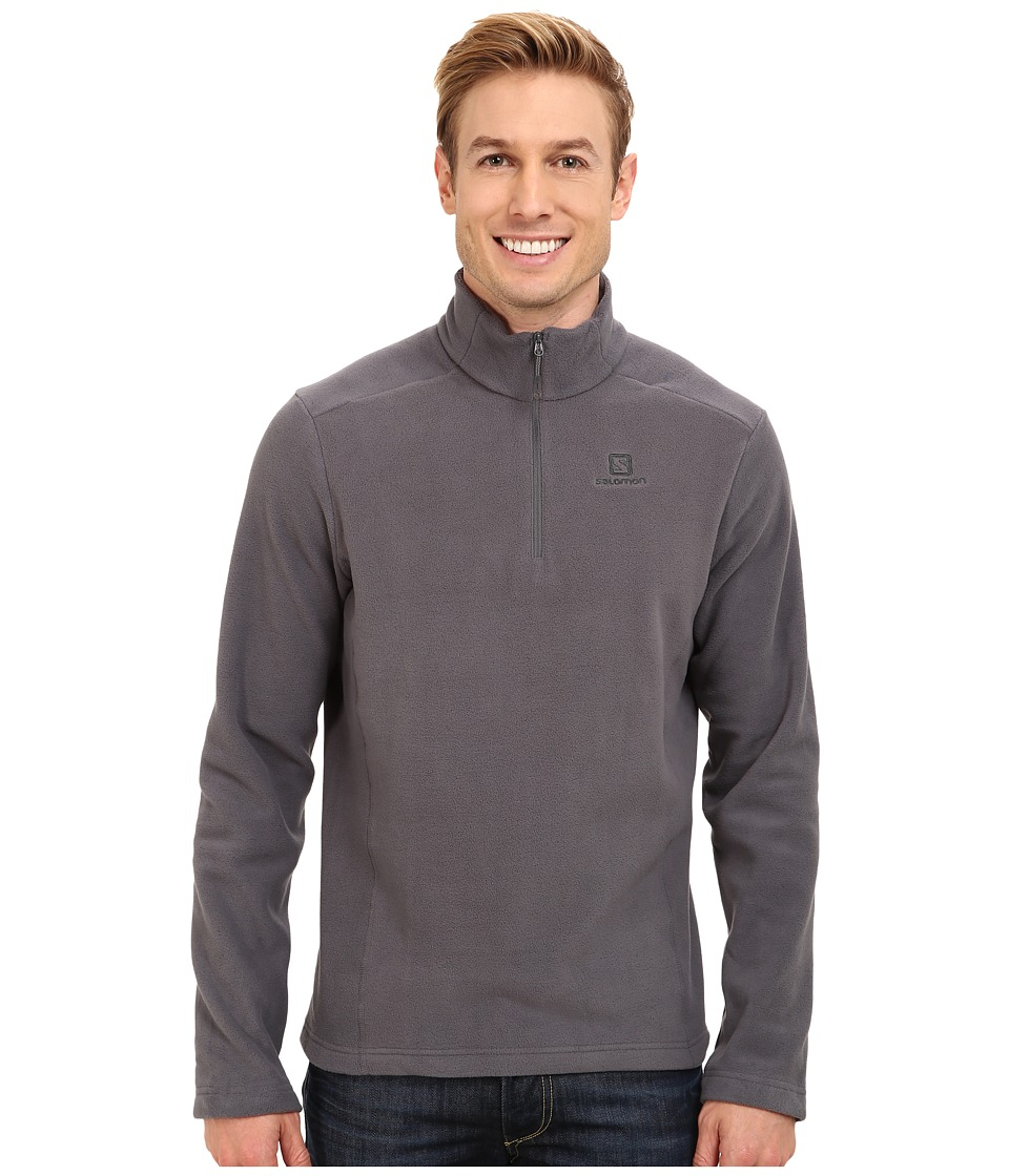 Salomon - Panorama Hz Midlayer (Dark Cloud) Men's Fleece