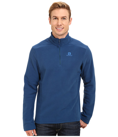 Salomon - Panorama Hz Midlayer (Midnight Blue) Men's Fleece