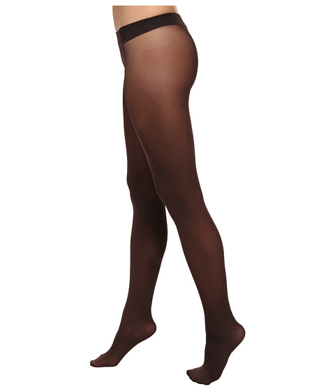 HUE - Seamless Opaque Tights (Espresso) Hose