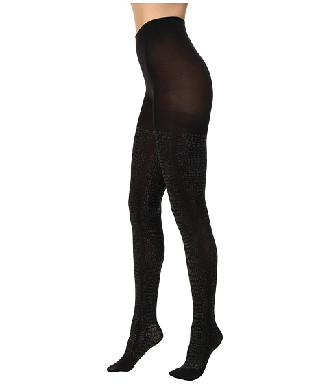 HUE - Python Print Tight (Black) Hose