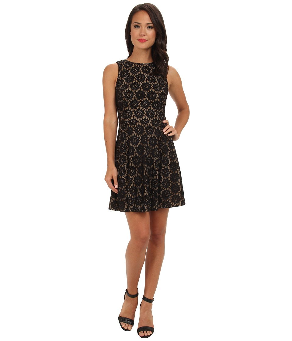 Nicole Miller - Daisy Lace Dress (Black) Women's Dress