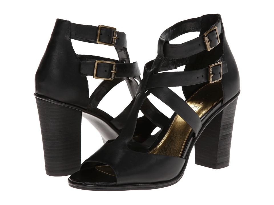 LAUREN by Ralph Lauren - Octavia (Black Smooth Pull Up) High Heels