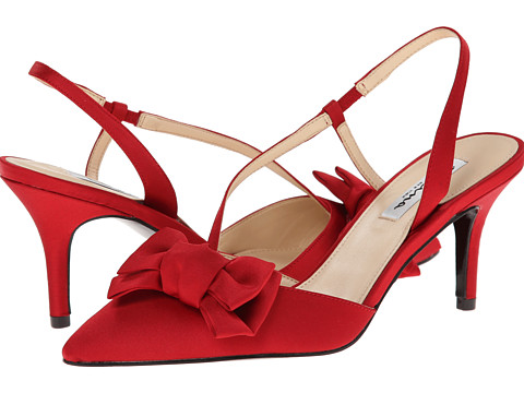 Nina - Teddi (Red Rouge) Women's Shoes
