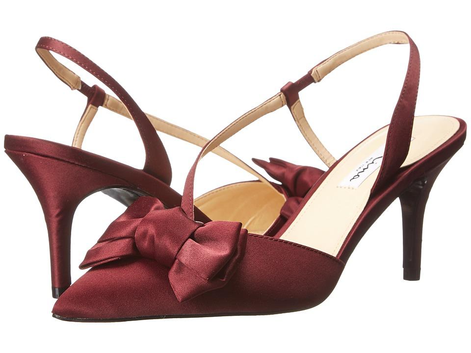 Nina - Teddi (Wine) Women's Shoes