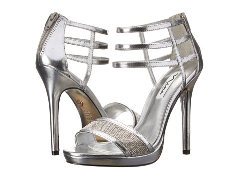 Nina - Fable (Silver) Women's Dress Sandals
