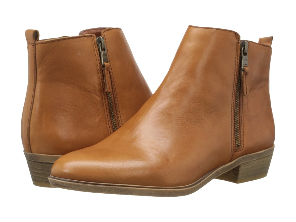 LAUREN Ralph Lauren - Shira (Polo Tan Burnished Leather) Women's Pull-on Boots
