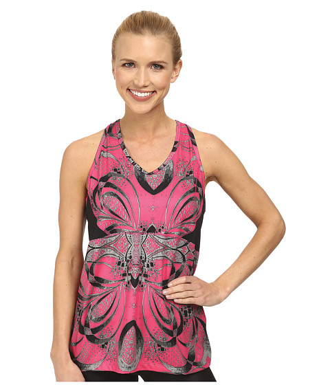 Skirt Sports - Eclipse Tank (Exotic Print/Black) Women's Sleeveless