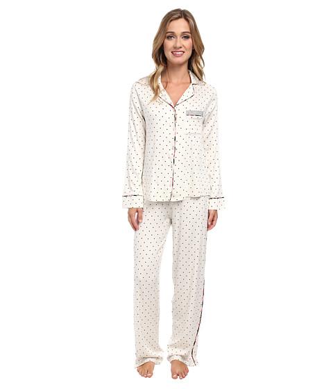 Splendid - Piped PJ Set (Retro Dot) Women's Pajama Sets