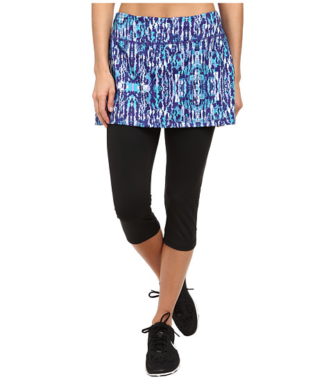 Skirt Sports - Lotta Breeze Capri Skirt (Escape Print) Women's Skort