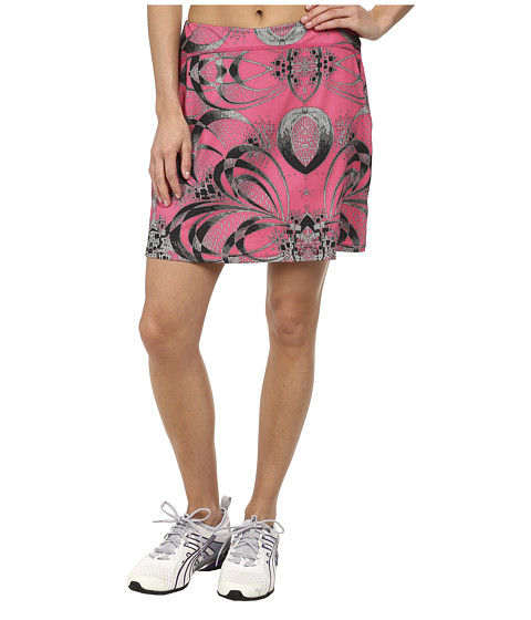Skirt Sports - Happy Girl Skirt (Exotic Print) Women's Skort