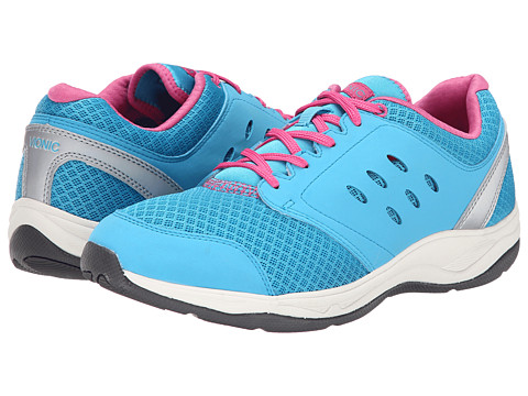 VIONIC with Orthaheel Technology - Venture Active Lace-Up (Turquoise) Women's Lace up casual Shoes