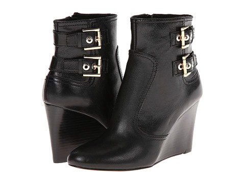 Nine West - Herbert (Black Leather) Women's Boots