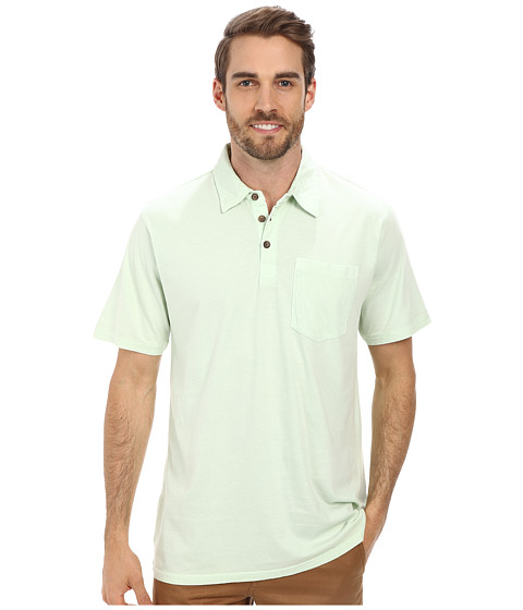Jack O'Neill - Crawford Knit (Subtle Green) Men's Short Sleeve Knit