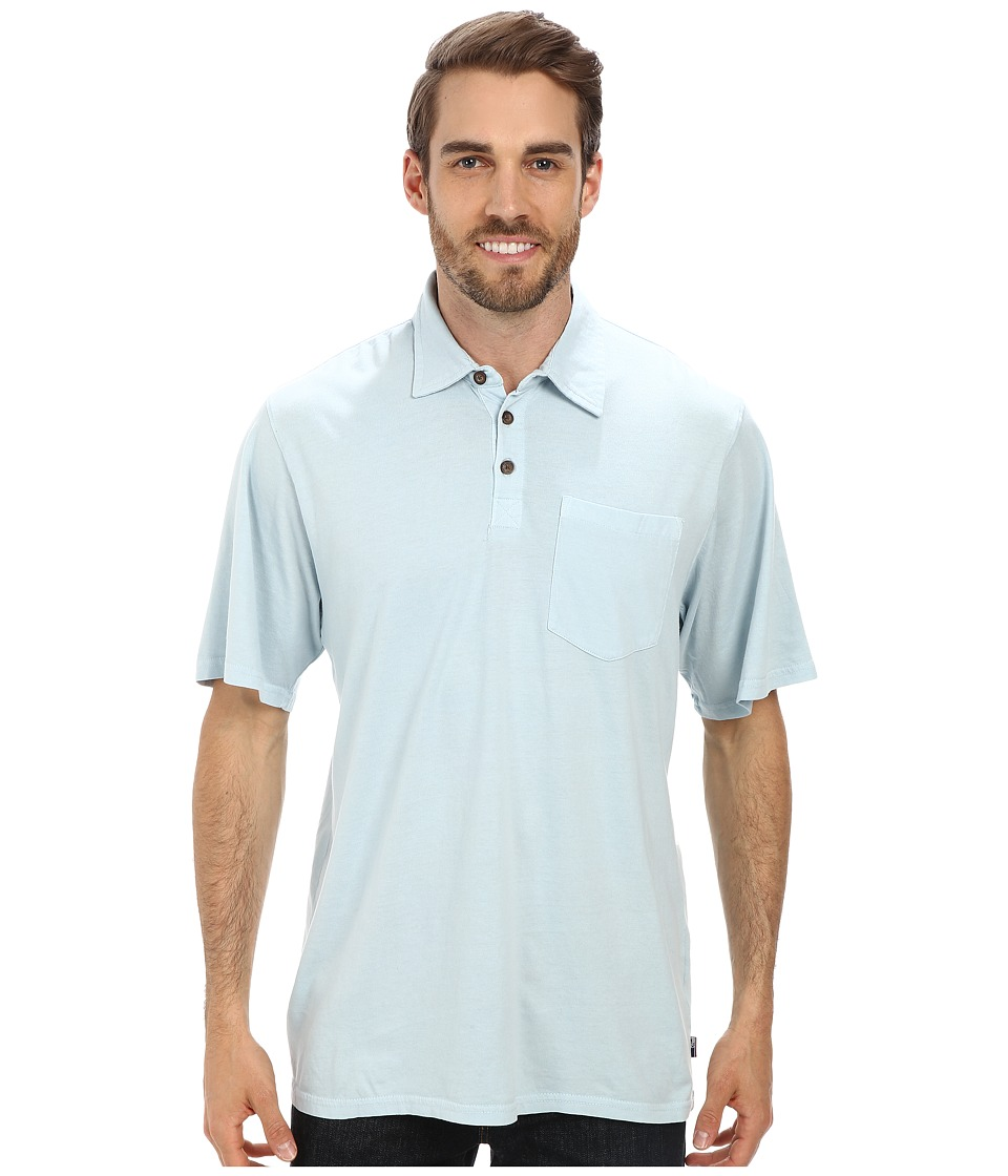 Jack O'Neill - Crawford Knit (Light Blue) Men's Short Sleeve Knit