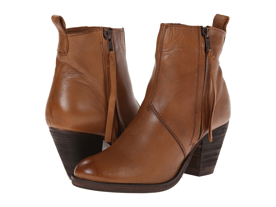 Dune London - Platter (Tan) Women's Zip Boots