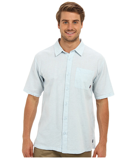 Jack O'Neill - Inlet Woven Shirt (Pale Blue) Men's Clothing