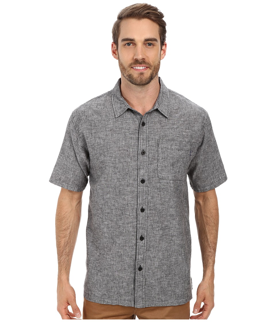 Jack O'Neill - Inlet Woven Shirt (Black) Men's Clothing