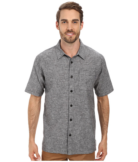 Jack O'Neill - Inlet Woven Shirt (Black) Men's Clothing