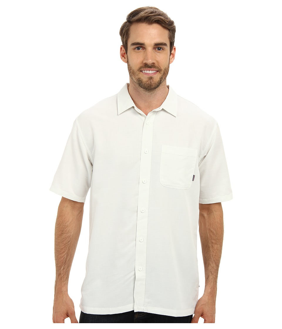 Jack O'Neill - Ixtapa Woven Shirt (White) Men's Short Sleeve Button Up