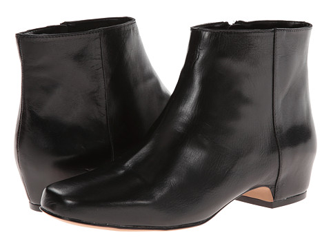 Nine West - Huggins (Black Leather) Women