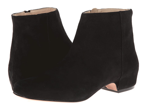 Nine West - Huggins (Black Suede) Women's Boots