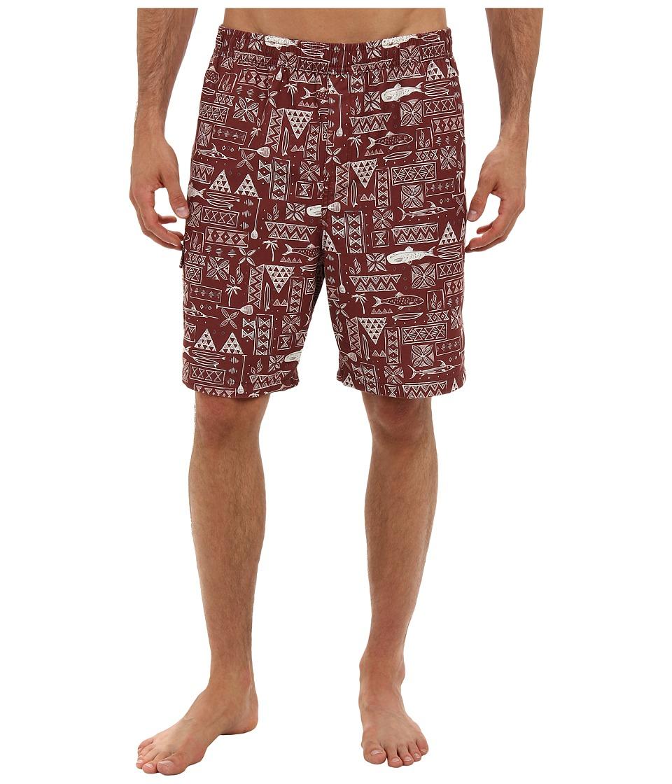O'Neill - Boardwalk Boardshorts (Red) Men's Swimwear